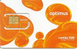 Mobile Phonecard Optimus - Portugal - Portugal