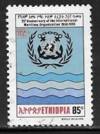 Ethiopia, Scott # 1067 Used Maritme Organization Anniv., 1983 - Ethiopia
