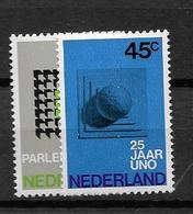 1970 MNH Netherlands, NVPH 973-4 Postfris - Ungebraucht