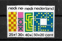 1973 MNH Netherlands, NVPH 1038-41 Postfris - 1949-1980 (Juliana)