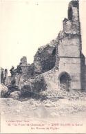 *** 51  ***  SAINT HILAIRE LE GRAND Les Ruines De L'église -  Neuve TTB - France