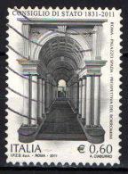 ITALIA - 2011 - CONSIGLIO DI STATO - PALAZZO SPADA - PROSPETTIVA DEL BORROMINI - USATO - 2011-...: Usati