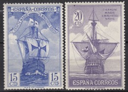 SPANIEN  507, 509, Postfrisch **, Kolumbus Und Die Entdeckung Amerikas, 1930 - 1889-1931 Royaume: Alphonse XIII