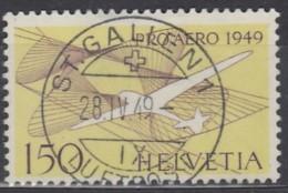SCHWEIZ  518 Gestempelt, Pro Aero 1949 - Luftpost