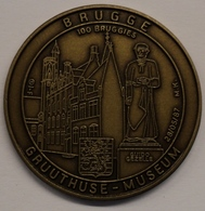 3194 Vz Brugge - Gruuthuse Museum Guido Gezelle 100 Bruggies - Kz Oppidi Sigillum Brugensis - Jetons De Communes