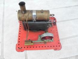 Jouet Ancien, Machine à Vapeur Méccano - Toy Memorabilia
