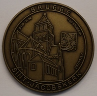 3197 Vz Brugge - Sint-Jacobskerk 100 Bruiggia - Kz Oppidi Sigillum Brugensis - Tokens Of Communes