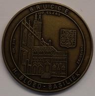 3199 Vz Brugge - H. Bloed-basiliek 100 Elzas - Kz Oppidi Sigillum Brugensis - Tokens Of Communes
