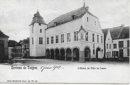 BORGLOON. LOOZ.ENVIRONS DE TONGRES. L'HOTEL DE VILLE DE LOOZ - Borgloon