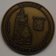 3201 Vz Brugge - Jeruzalemkerk 100 Bruccia - Kz Oppidi Sigillum Brugensis - Tokens Of Communes