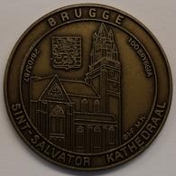 3202 Vz Brugge - Sint-Salvator Kathedraal 100 Bryggja - Kz Oppidi Sigillum Brugensis - Tokens Of Communes