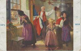 """Alsace Libérée """"délivrance, Mes Enfants! Nous Pouvons Sortir"""" 1871-1918 - Storia"""