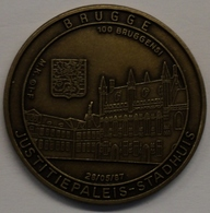 3203 Vz Brugge - Justitiepaleis-Stadhuis 100 Bruggensi - Kz Oppidi Sigillum Brugensis - Jetons De Communes