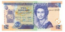 Belize 2 Dollars 2011, UNC. - Belize