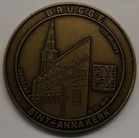 3204 Vz Brugge - Sint-Annakerk 100 Bruges - Kz Oppidi Sigillum Brugensis - Jetons De Communes