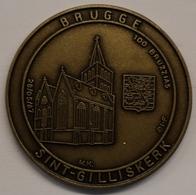 3206 Vz Brugge - Sint-Gilliskerk 100 Bruzzias - Kz Oppidi Sigillum Brugensis - Tokens Of Communes