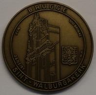 3207 Vz Brugge - Sint-Walburgakerk 100 Brugas - Kz Oppidi Sigillum Brugensis - Tokens Of Communes