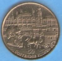 3208 Vz Hippodroom Wellington 1883-1983 Oostende – Kz 50 Oostendse Rijder - Jetons De Communes