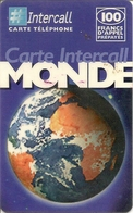 Intercall 100 Prepaid Phonecard - France - Andere Voorafbetaalde Kaarten