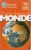 Intercall 50 Prepaid Phonecard - France - France
