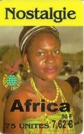 Nostalgie Africa Prepaid Phonecard - France - Andere Voorafbetaalde Kaarten
