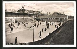 AK Krefeld, Im Hindenburg-Eisstadion - Krefeld