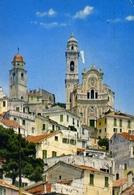 Cervo Ligure - Scorcio Panoramico Dell'antico Borgo E Chiesa S.giovanni Battista - Formato Grande Viaggiata – E 6 - Imperia