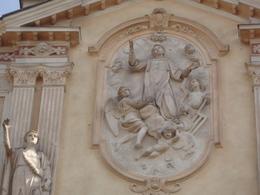 S.LORENZO Martire / Esterno Chiesa In  CASTELLETTO D'ORBA,Alessandria /fotografia - Religione & Esoterismo