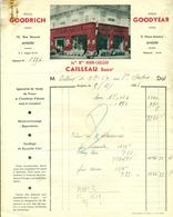 Angers Pneus Auto Cailleau 1938 - Sports & Tourism