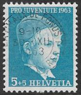 Switzerland SG J197 1963 Pro Juventute 5c+5c Good/fine Used [37/31074/7D] - Pro Juventute