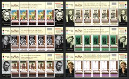 "ISLE OF MAN 2003 EUROPA/Poster Art/""The Manx Bookshelf"": Set Of 6 Strips Of 4 Stamps UM/MNH - Isle Of Man"