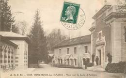 """CPA FRANCE 01 """"Divonne Les Bains,  Vue Sur La Salle D'Armes"""" - Divonne Les Bains"""