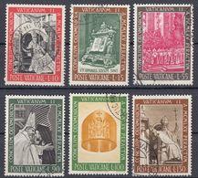 VATICANO - 1966 - Serie Completa Usata: Yvert 457/462, 6 Valori, Come Da Immagine. - Oblitérés