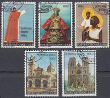 VATICANO - 1970 - Serie Completa Usata: Yvert 513/517, 5 Valori, Come Da Immagine. - Oblitérés