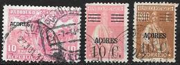 ACORES - Açores - PORTUGAL - Dépendance Portugaise 1925 / 1929 - N° 248 / 301 / 305 Oblitérés - Açores