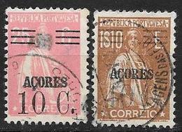 ACORES - Açores - PORTUGAL - Dépendance Portugaise - 301 Et 305 Oblitérés - Açores