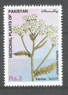 PAKISTAN STAMP 1996  MEDICAL PLANT YARROW MNH - Pakistan