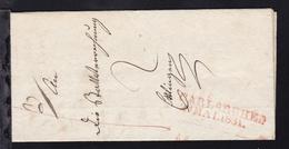 Karlsruhe L2 CARLSRUHE. 28 MAI. 1831. Auf Brief Nach Ettlingen - Allemagne