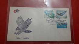 La Costa Rica FDC Une Faune - Postzegels