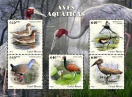 GUINEA BISSAU 2018 MNH** Water Birds Wasservögel Oiseaux Aquatiques M/S - OFFICIAL ISSUE - DH1826 - Uccelli