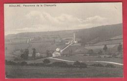 Soulme - Panorama De La Champelle - 1912 ( Voir Verso ) - Doische