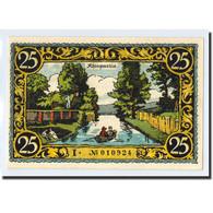 Billet, Allemagne, Friesack Stadt, 25 Pfennig, Paysage, 1921, SPL, Mehl:396.1 - Other
