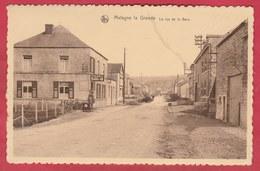Matagne La Grande - La Rue De La Gare ... Café De La Gare, Oldtimer ( Voir Verso ) - Doische
