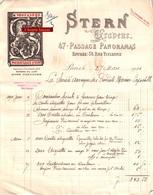 Beau Document Du 27/03/1901 STERN Graveur  à Paris 75 - 1900 – 1949