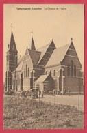 Quaregnon-Lourdes - Le Choeur De L'église ... Carte Animée, Oldtimer -1932 ( Voir Verso ) - Quaregnon