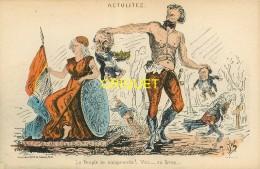 Politique Satirique, Caricature, La Commune De Paris, 1871, Le Peuple Te Comprend - Ereignisse