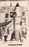 AK - Urlauberrakete In Zeltweg (Stmk) Beim Auftanken - 1960 - Humor