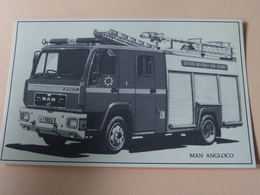 MAN ANGLOCO ( Edit. ?? ) ( Zie Foto Voor Details ) Anno 19?? ! - Camions & Poids Lourds