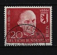 BERLIN - Mi-Nr. 181- Todestag Prof. Dr. Suhr Gestempelt - Gebraucht