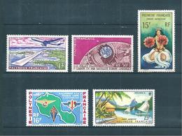 Polynésie PA De 1958  N°5 A 9  Neufs ** Gomme Parfaite (cote 55,30€) - Neufs